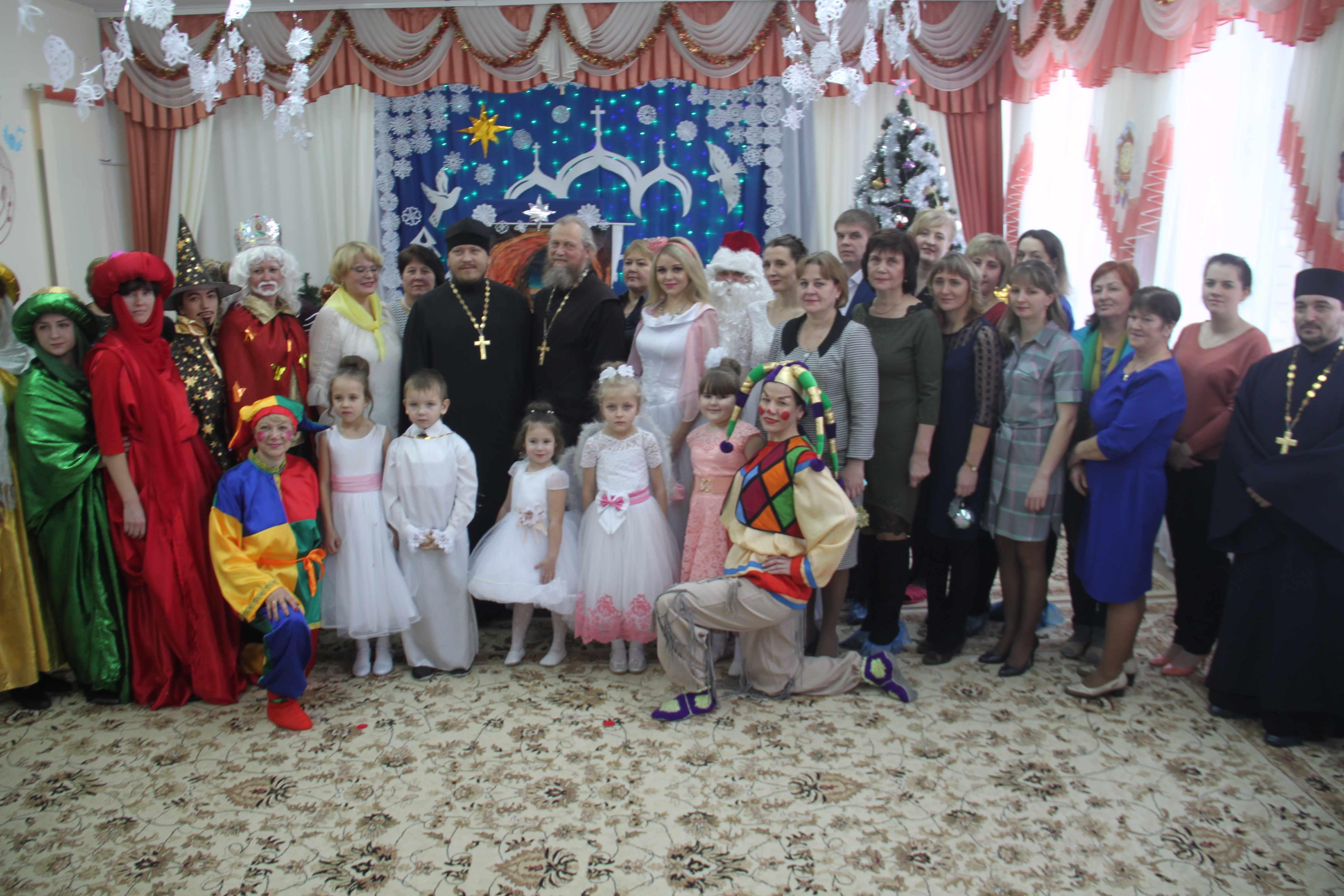 Рождество в детском саду «Улыбка»