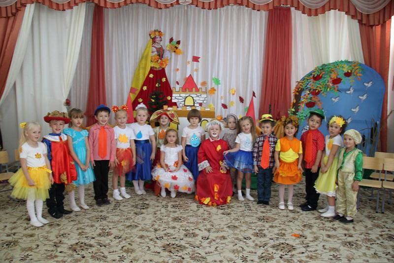 Проект «Театр и дети» продолжается… по осенним мотивам