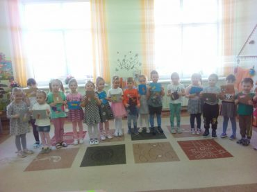 День космонавтики в  средней группе «Колокольчики»